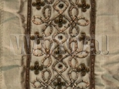 Ткани Kandola - Latiffe Border Antique Silk Kandola