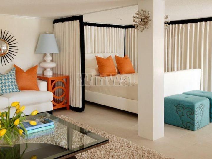 Шторы для перегородки комнаты