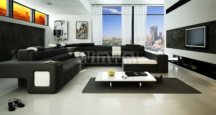 Дизайн гостиной фото стиль хайтек