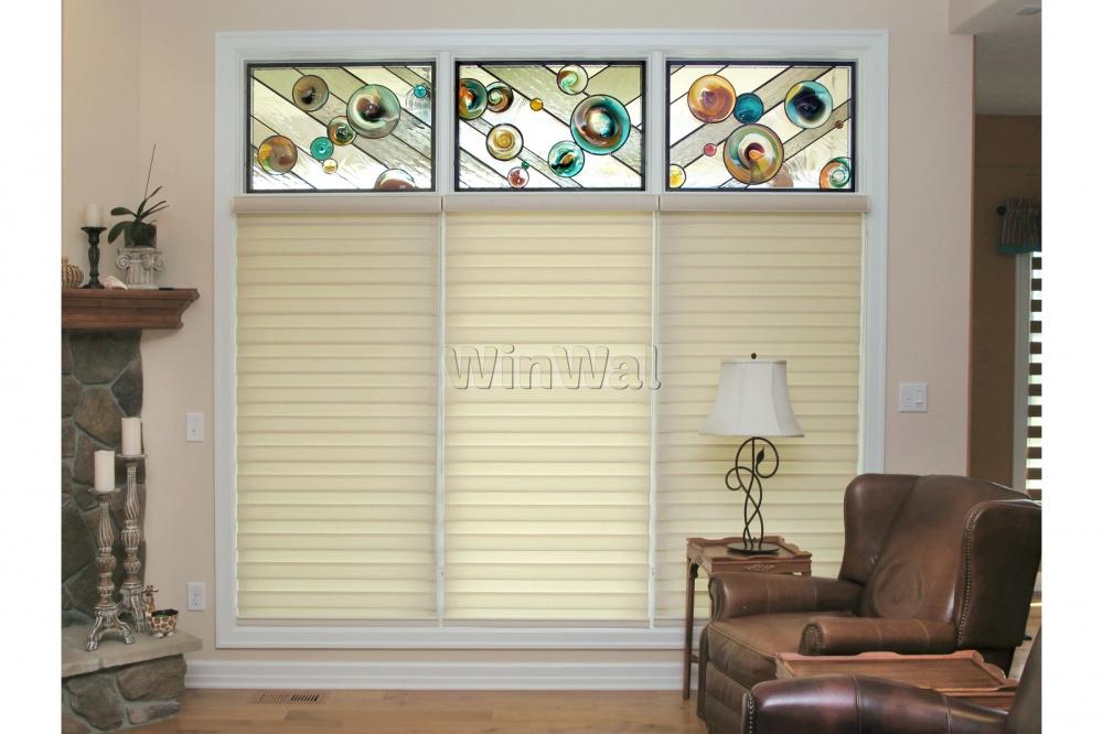 Шторы на витражные окна