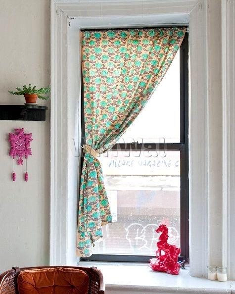 Шторы на узкое окно - фото в интерьере. заказать пошив и диз.